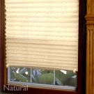 Plisovaná papierová roleta-prírodná